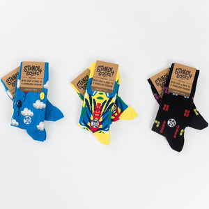 Jungle Summer Sock - Combed Cotton