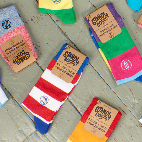 Colourful Bamboo Gift Box 3 Pack Socks