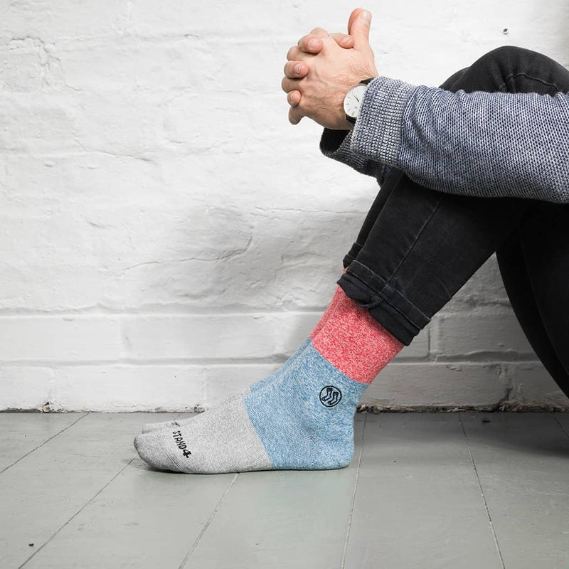 Bold Stripe Sock - Twisted Cotton (wholesale)