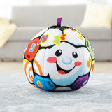 Fisher-Price Laugh & Learn Singin' Soccer Ball, Multicolor
