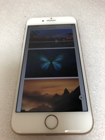 Apple iPhone 8 256GB  Gold AT&T A1905 MQ7V2LL/A