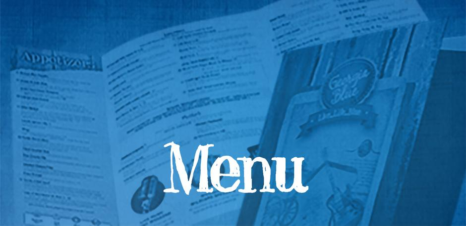 View the Georgia Blue Menu