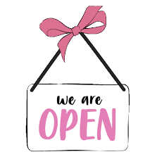 We are back open for business!