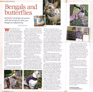 Catworld magazine feature