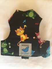 Cat Themed Designs - Original Butterfly Cat Jacket