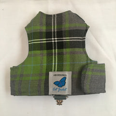 Walking Harness/Jacket - Tartan/Plaid Designs