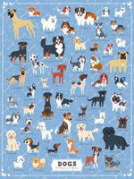 True South Puzzle ILLUSTRATED DOGS