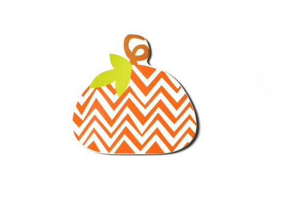 Coton Colors Big Attachment - Chevron Pumpkin