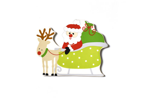 Coton Colors Big Attachment - Santa Sleigh