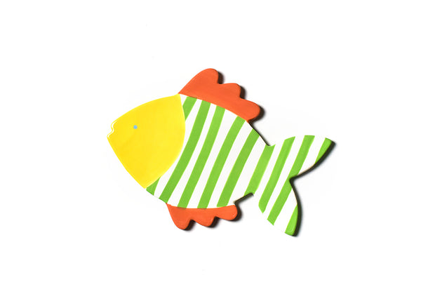 Coton Colors RETIRED Big Attachment - STRIPED FISH