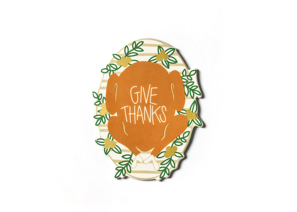 Coton Colors RETIRED Big Attachment - GIVE THANKS Turkey