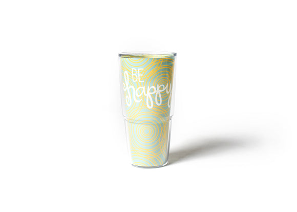 Be Happy Circles Tervis Tumbler