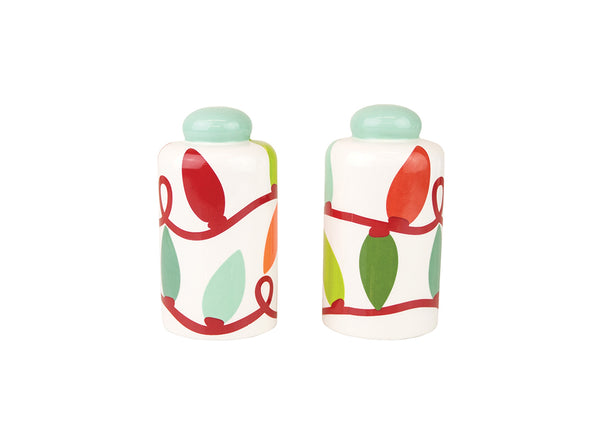 Twinkle Column Salt and Pepper Shakers