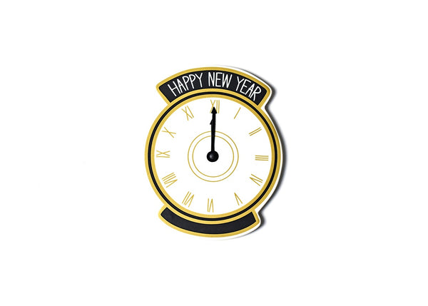 Coton Colors Big Attachment NEW YEAR Clock