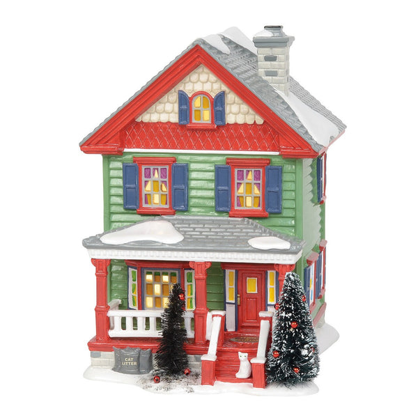 D-56 Snow Village Christmas Vacation AUNT BETHANY's HOUSE