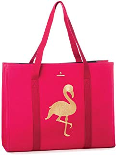 FLAMINGO CARRYALL TOTE - FINAL SALE