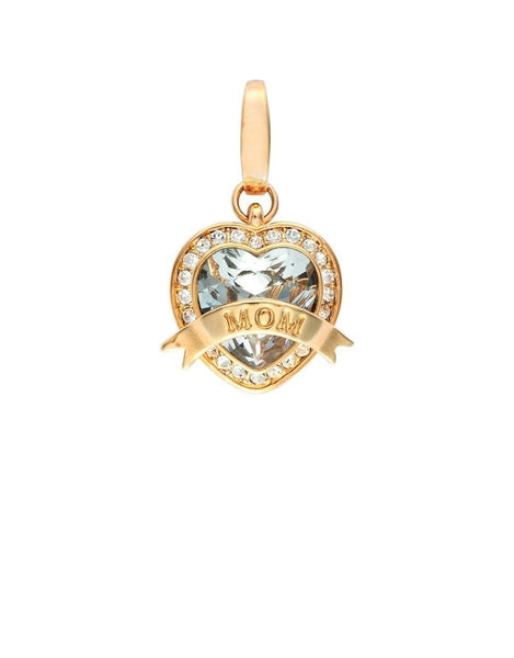Spartina 449 RETIRED Charm MOM HEART CRYSTAL ~Beautiful~
