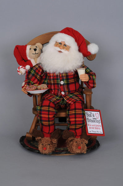 MIDNIGHT SNACK ROCKING CHAIR SANTA