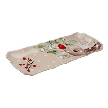 Rectangular Tray, Linen - Genevieve Bond Gifts