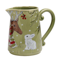 Pitcher, Green - Genevieve Bond Gifts