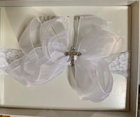 Jewel Cross Infant Headband
