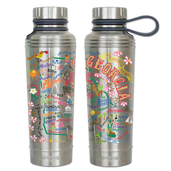 Cat Studio 18oz Stainless Water Bottle - Georgia