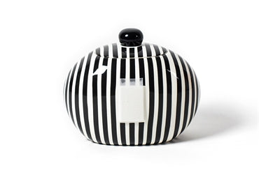 Coton Colors - Big Cookie Jar - Black Stripe