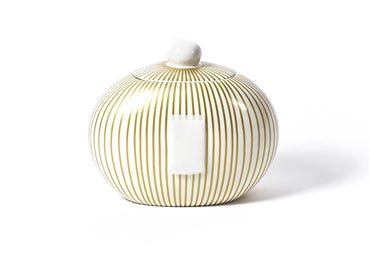 Coton Colors - Big Cookie Jar - Gold Stripe