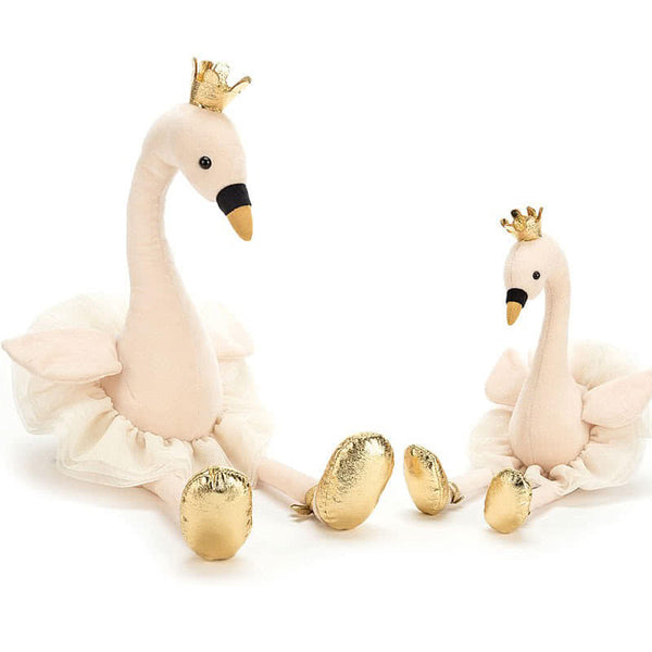 JellyCat Large FANCY SWAN