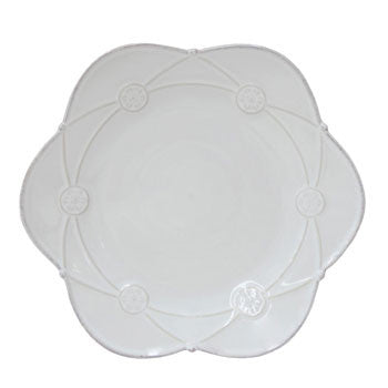 Meridian - Salad Plate, Decor., Red - Genevieve Bond Gifts