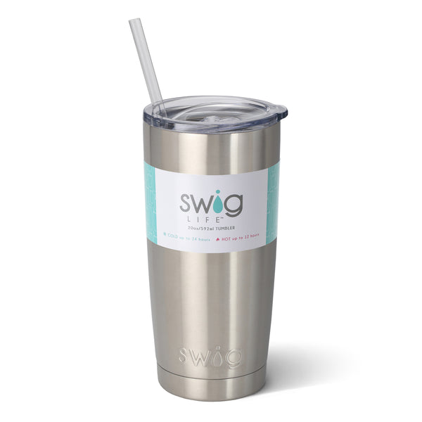 SWIG 20 oz Stainless Steel Tumbler with Lid