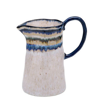 "Sausalito €"" Pitcher, Blue - Genevieve Bond Gifts"
