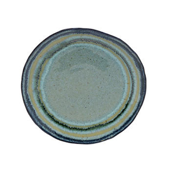 Sausalito Salad Plate Green - Genevieve Bond Gifts