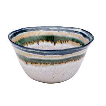 "Sausalito €"" Serving Bowl, Green - Genevieve Bond Gifts"