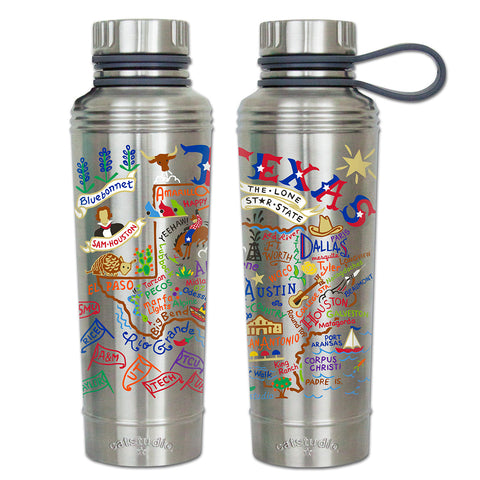 Cat Studio 18oz Stainless Water Bottle - Texas