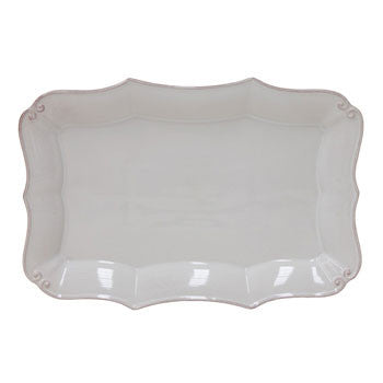 Vintage Port - Rect. Platter, Cream - Genevieve Bond Gifts