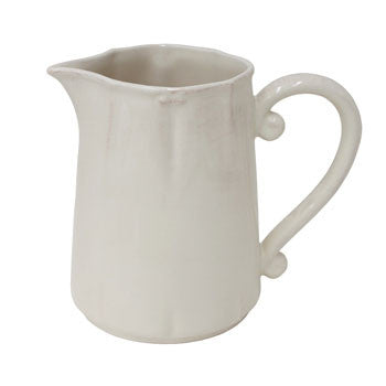 "Vintage Port €"" Pitcher, Cream - Genevieve Bond Gifts"