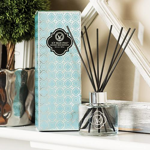 ICEY BLUE PINE HOLIDAY REED DIFFUSER