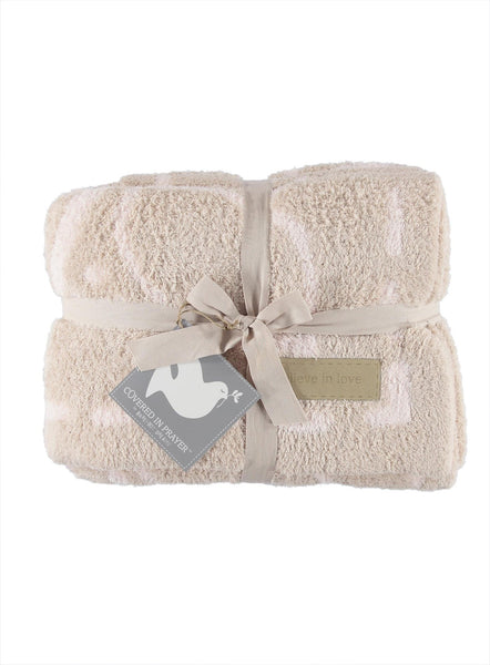 the COZYCHIC® COVERED IN PRAYER® THROW