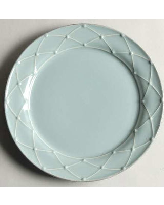 Casafina RETIRED Dinner Plate MERIDIAN  (DECORATED) BLUE