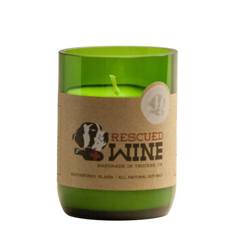Rescued Wine Candle Chardonnay - Genevieve Bond Gifts