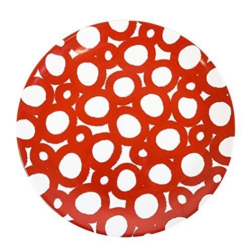 Wheel Dinner Plate Red RETIRED