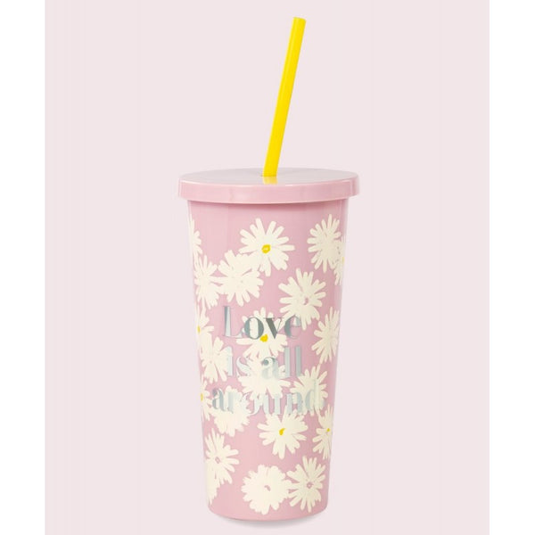 Kate Spade Insulated Tumbler LOVE IS ALL AROUND 25% off