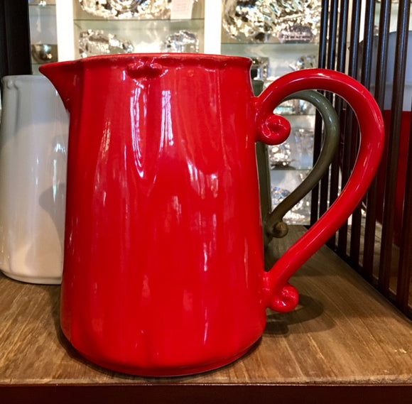 Vintage Port Pitcher Red
