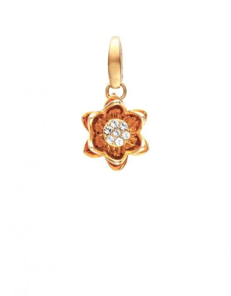 SPARTINA 449  RETIRED Charm WATER LILY ~Spontaneous~