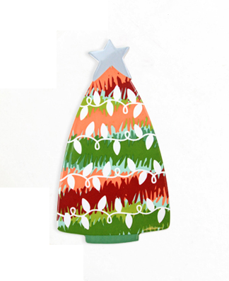 Coton Colors Big Attachment - Spruced Tree