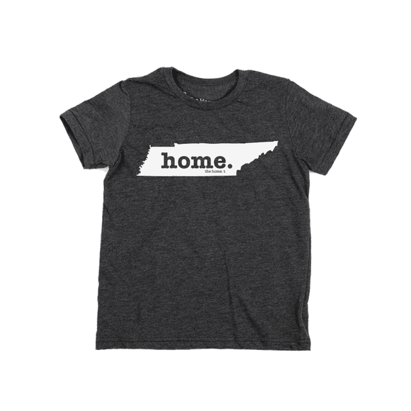 Home T Crew Neck Tee TN Kid's 10 Grey