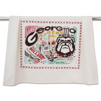 Georgia, University of Collegiate Dish Towel