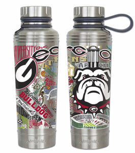 Cat Studio 18oz Stainless Water Bottle - University of Georgia