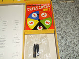 Chad Valley TV's Criss Cross Quiz Complete With Instructions 1950's - Vintage Retro And Vinyl - 10